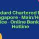 Standard Chartered Bank Singapore - Main/Head Office - Online Banking-Hotline